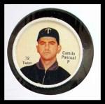 1962 Salada Coins #78  Camilo Pascual  Front Thumbnail