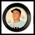 1962 Salada Coins #113 RED Ed Bailey   Front Thumbnail