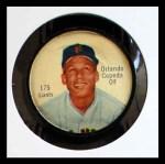 1962 Salada Coins #175  Orlando Cepeda  Front Thumbnail