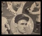 1935 Goudey  Al Spohrer / Flint Rhem / Ben Cantwell / Larry Benton  Back Thumbnail
