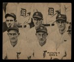 1935 Goudey 4-in-1  Earl Averill / Oral Hildebrand / Willie Kamm / Hal Trosky  Back Thumbnail