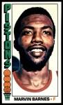 1976 Topps #35  Marvin Barnes  Front Thumbnail