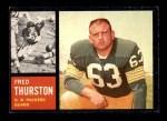 1962 Topps #69  Fred Thurston  Front Thumbnail