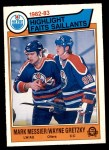 1983 O-Pee-Chee #23   -  Mark Messier / Wayne Gretzky Highlights Front Thumbnail