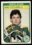 1982 O-Pee-Chee #165  Dino Ciccarelli  Front Thumbnail