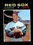 1971 Topps #254  Cal Koonce  Front Thumbnail