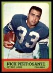1963 Topps #27  Nick Pietrosante  Front Thumbnail