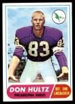 1968 Topps #6  Don Hultz  Front Thumbnail