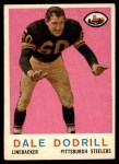1959 Topps #34  Dale Dodrill  Front Thumbnail