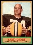 1963 Topps #93  Hank Jordan  Front Thumbnail