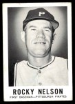 1960 Leaf #127  Rocky Nelson  Front Thumbnail