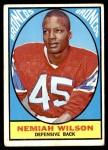 1967 Topps #30  Nemiah Wilson  Front Thumbnail