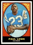 1967 Topps #121  Paul Lowe  Front Thumbnail
