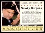 1961 Post #138 COM Smoky Burgess  Front Thumbnail
