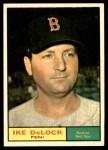 1961 Topps #268 ERR Ike Delock  Front Thumbnail