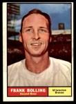 1961 Topps #335  Frank Bolling  Front Thumbnail