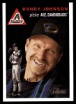2003 Topps Heritage #80 BLK Randy Johnson   Front Thumbnail