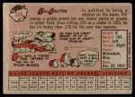 1958 Topps #355  Bill Bruton  Back Thumbnail