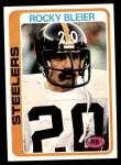1978 Topps #19  Rocky Bleier  Front Thumbnail