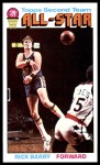 1976 Topps #132  Rick Barry  Front Thumbnail