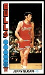 1976 Topps #123  Jerry Sloan  Front Thumbnail