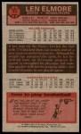 1976 Topps #71  Len Elmore  Back Thumbnail