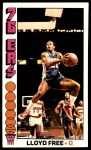 1976 Topps #143  Lloyd Free  Front Thumbnail