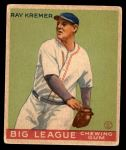 1934 World Wide Gum #38  Ray Kremer  Front Thumbnail