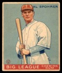 1933 World Wide Gum #94  Al Spohrer    Front Thumbnail