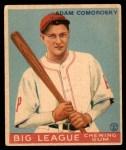 1933 World Wide Gum #70  Adam Comorosky    Front Thumbnail