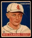 1934 World Wide Gum #23  Richard Coffman  Front Thumbnail
