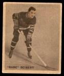 1933 World Wide Gum Ice Kings #8  Babe Siebert  Front Thumbnail