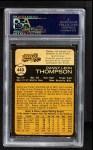 1973 O-Pee-Chee #443  Danny Thompson  Back Thumbnail