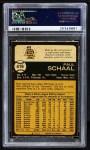 1973 O-Pee-Chee #416  Paul Schaal  Back Thumbnail