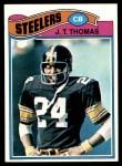 1977 Topps #501  J.T. Thomas  Front Thumbnail