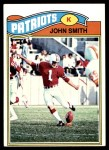 1977 Topps #499  John Smith  Front Thumbnail