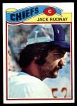 1977 Topps #487  Jack Rudnay  Front Thumbnail