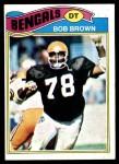 1977 Topps #491  Bob Brown  Front Thumbnail
