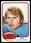 1976 Topps #487  George Hunt  Front Thumbnail