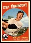 1959 Topps #326  Marv Throneberry  Front Thumbnail