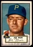 1952 Topps #154 CRM Joe Muir  Front Thumbnail