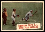 1961 Topps #404   -  Rogers Hornsby Baseball Thrills Front Thumbnail