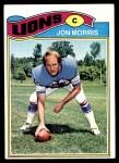 1977 Topps #193  Jon Morris  Front Thumbnail