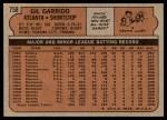 1972 Topps #758  Gil Garrido  Back Thumbnail
