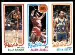 1980 Topps   -  Billy Knight / Allen Leavell / John Lucas 120 / 104 / 96 Front Thumbnail