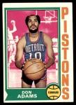 1974 Topps #4  Don Adams  Front Thumbnail