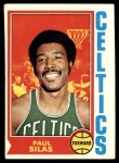 1974 Topps #9  Paul Silas  Front Thumbnail
