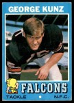 1971 Topps #109  George Kunz  Front Thumbnail