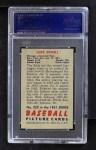 1951 Bowman #322  Luke Sewell  Back Thumbnail