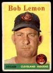 1958 Topps #2 YT Bob Lemon  Front Thumbnail